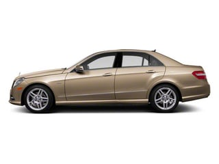 Pearl Beige Metallic 2012 Mercedes-Benz E-Class Pictures E-Class Sedan 4D E550 AWD photos side view
