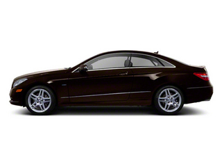 designo Mocha Black Metallic 2012 Mercedes-Benz E-Class Pictures E-Class Coupe 2D E550 photos side view