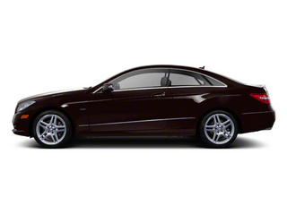 designo Mystic Brown Metallic 2012 Mercedes-Benz E-Class Pictures E-Class Coupe 2D E550 photos side view