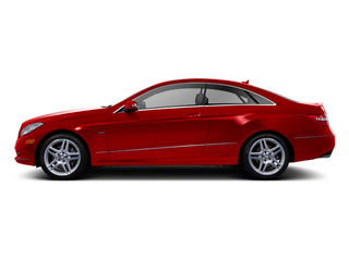 Mars Red 2012 Mercedes-Benz E-Class Pictures E-Class Coupe 2D E550 photos side view