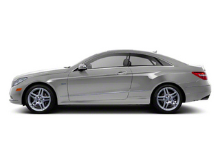 Palladium Silver Metallic 2012 Mercedes-Benz E-Class Pictures E-Class Coupe 2D E550 photos side view