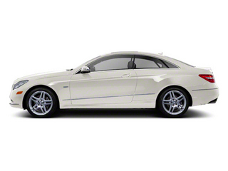 Diamond White Metallic 2012 Mercedes-Benz E-Class Pictures E-Class Coupe 2D E550 photos side view