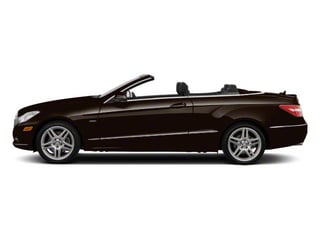 designo Mocha Black Metallic 2012 Mercedes-Benz E-Class Pictures E-Class Convertible 2D E350 photos side view