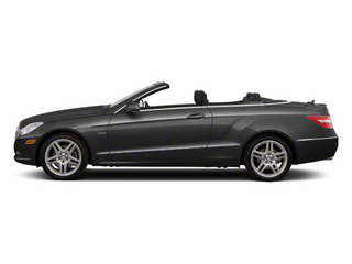 designo Graphite Metallic 2012 Mercedes-Benz E-Class Pictures E-Class Convertible 2D E350 photos side view