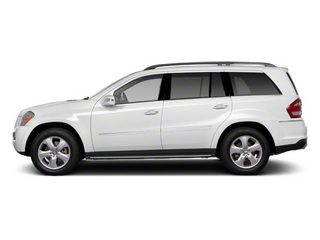 Arctic White 2012 Mercedes-Benz GL-Class Pictures GL-Class Utility 4D GL550 4WD photos side view