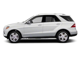 Arctic White 2012 Mercedes-Benz M-Class Pictures M-Class Utility 4D ML63 AMG AWD photos side view