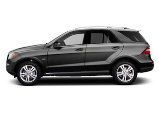 Steel Grey Metallic 2012 Mercedes-Benz M-Class Pictures M-Class Utility 4D ML63 AMG AWD photos side view