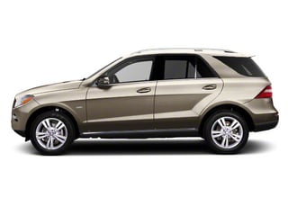 Pearl Beige Metallic 2012 Mercedes-Benz M-Class Pictures M-Class Utility 4D ML63 AMG AWD photos side view