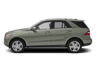 Palladium Silver Metallic 2012 Mercedes-Benz M-Class Pictures M-Class Utility 4D ML350 BlueTEC AWD photos side view