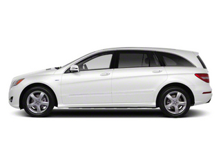 Arctic White 2012 Mercedes-Benz R-Class Pictures R-Class Utility 4D R350 AWD photos side view