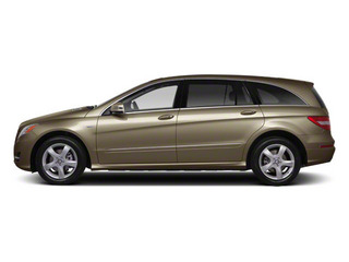 Pearl Beige Metallic 2012 Mercedes-Benz R-Class Pictures R-Class Utility 4D R350 AWD photos side view