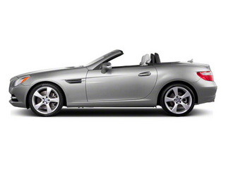 Iridium Silver Metallic 2012 Mercedes-Benz SLK-Class Pictures SLK-Class Roadster 2D SLK350 photos side view