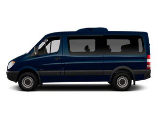 Steel Blue 2012 Mercedes-Benz Sprinter Passenger Vans Pictures Sprinter Passenger Vans Passenger Van High Roof photos side view