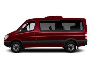 Velvet Red 2012 Mercedes-Benz Sprinter Passenger Vans Pictures Sprinter Passenger Vans Passenger Van High Roof photos side view