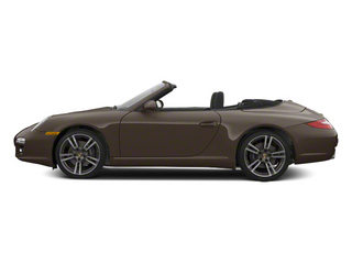Macadamia Metallic 2012 Porsche 911 Pictures 911 Cabriolet 2D Turbo AWD photos side view