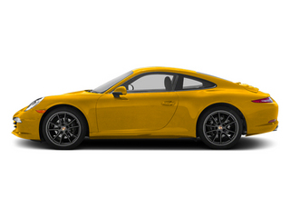 Racing Yellow 2012 Porsche 911 Pictures 911 Coupe 2D S photos side view