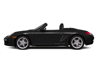 Black 2012 Porsche Boxster Pictures Boxster Roadster 2D photos side view