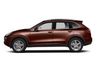 Auburn Metallic 2012 Porsche Cayenne Pictures Cayenne Utility 4D S AWD (V8) photos side view