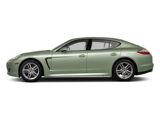 Crystal Green Metallic 2012 Porsche Panamera Pictures Panamera Hatchback 4D Turbo AWD photos side view