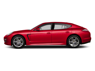 Ruby Red Metallic 2012 Porsche Panamera Pictures Panamera Hatchback 4D Turbo AWD photos side view