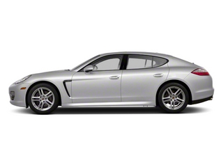 GT Silver Metallic 2012 Porsche Panamera Pictures Panamera Hatchback 4D Turbo AWD photos side view