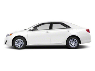 Super White 2012 Toyota Camry Pictures Camry Sedan 4D LE photos side view