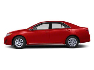 Barcelona Red Metallic 2012 Toyota Camry Pictures Camry Sedan 4D LE photos side view