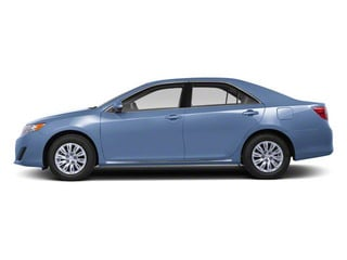 Clearwater Blue Metallic 2012 Toyota Camry Pictures Camry Sedan 4D LE photos side view