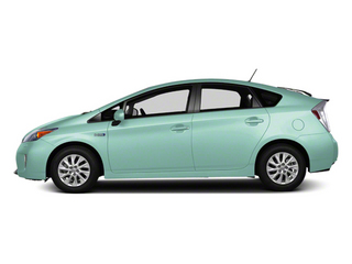 Sea Glass Pearl 2012 Toyota Prius Plug-In Pictures Prius Plug-In Liftback 5D Plug-In Advanced Hybrid photos side view