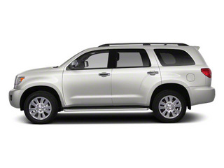 Blizzard Pearl 2012 Toyota Sequoia Pictures Sequoia Utility 4D Platinum 4WD photos side view