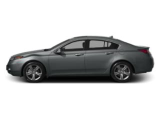 Graphite Luster Metallic 2013 Acura TL Pictures TL Sedan 4D Technology AWD V6 photos side view