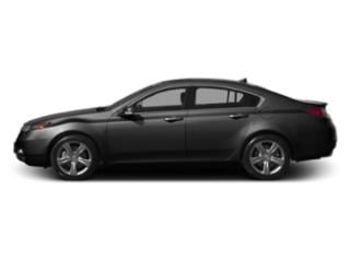 Crystal Black Pearl 2013 Acura TL Pictures TL Sedan 4D AWD V6 photos side view