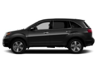Crystal Black Pearl 2013 Acura MDX Pictures MDX Utility 4D Advance AWD V6 photos side view