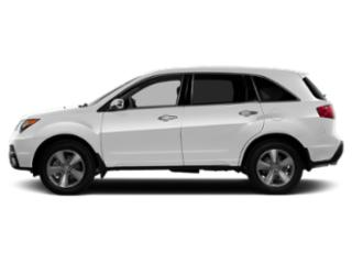 Aspen White Pearl 2013 Acura MDX Pictures MDX Utility 4D Advance AWD V6 photos side view