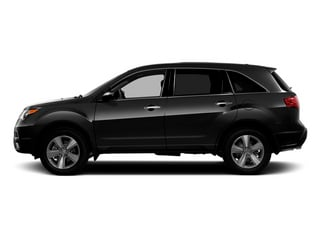 Crystal Black Pearl 2013 Acura MDX Pictures MDX Utility 4D Technology AWD V6 photos side view