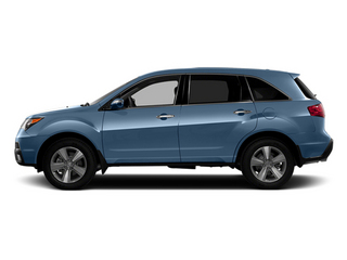 Bali Blue Pearl 2013 Acura MDX Pictures MDX Utility 4D AWD V6 photos side view