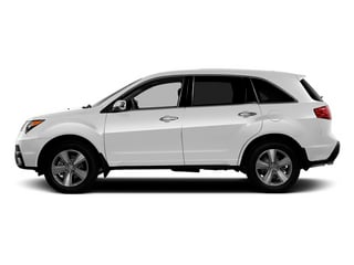 Aspen White Pearl 2013 Acura MDX Pictures MDX Utility 4D Technology DVD AWD V6 photos side view