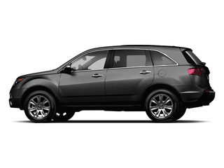 Crystal Black Pearl 2013 Acura MDX Pictures MDX Utility 4D Advance DVD AWD V6 photos side view