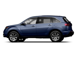 Bali Blue Pearl 2013 Acura MDX Pictures MDX Utility 4D Advance DVD AWD V6 photos side view
