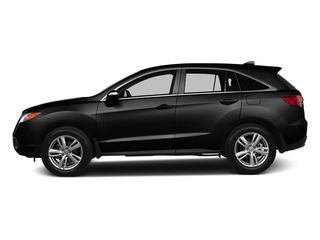 Crystal Black Pearl 2013 Acura RDX Pictures RDX Utility 4D 2WD photos side view