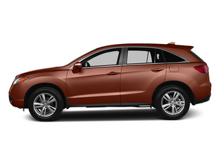 Amber Brownstone 2013 Acura RDX Pictures RDX Utility 4D 2WD photos side view