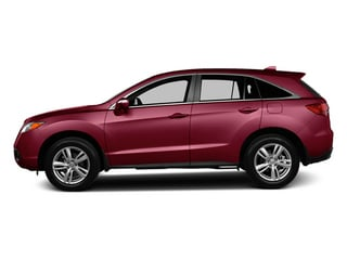 Basque Red Pearl II 2013 Acura RDX Pictures RDX Utility 4D AWD photos side view