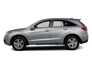 Forged Silver Metallic 2013 Acura RDX Pictures RDX Utility 4D 2WD photos side view