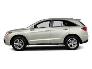 White Diamond Pearl 2013 Acura RDX Pictures RDX Utility 4D AWD photos side view
