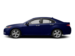 Vortex Blue Pearl 2013 Acura TSX Pictures TSX Sedan 4D I4 photos side view