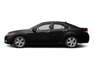 Crystal Black Pearl 2013 Acura TSX Pictures TSX Sedan 4D I4 photos side view