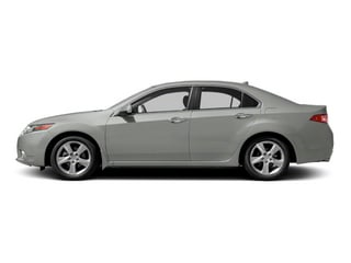 Forged Silver Metallic 2013 Acura TSX Pictures TSX Sedan 4D I4 photos side view