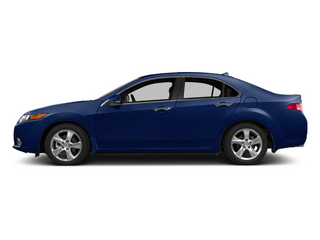 Vortex Blue Pearl 2013 Acura TSX Pictures TSX Sedan 4D Technology I4 photos side view