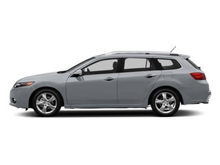 Forged Silver Metallic 2013 Acura TSX Sport Wagon Pictures TSX Sport Wagon 4D Technology I4 photos side view