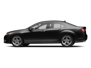 Crystal Black Pearl 2013 Acura TSX Pictures TSX Sedan 4D Technology V6 photos side view